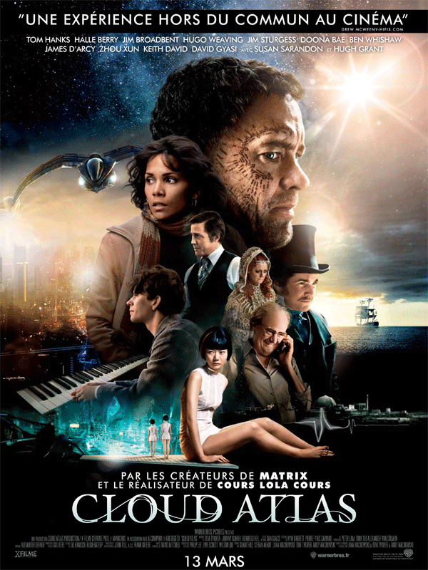 Critique Ciné – Cloud Atlas, Cloudy, with a chance of WTF
